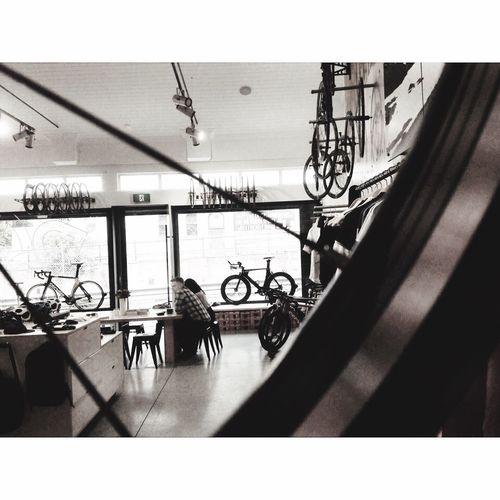 The moment Melbourne Bike Cafe