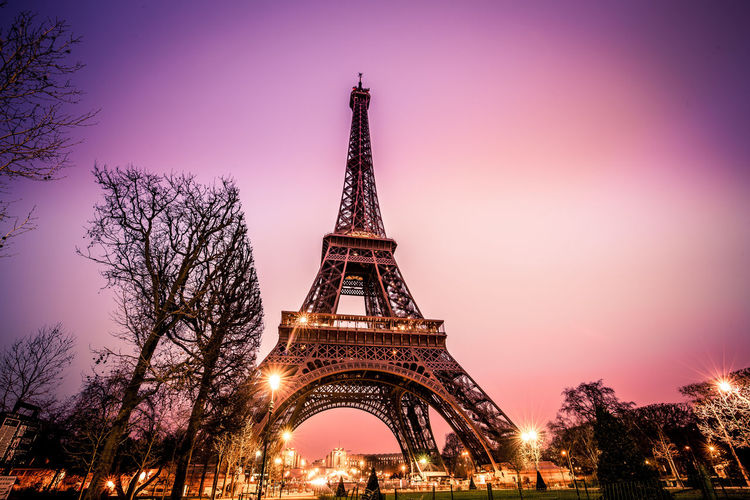 Eiffel tower in