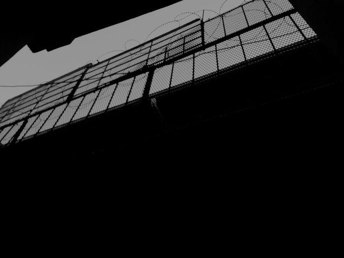 Architecture Built Structure No People Prison No Hope Fence