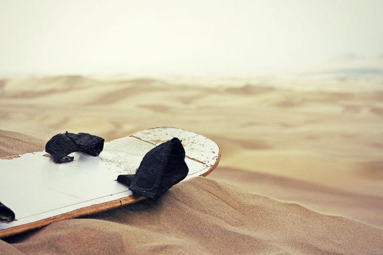 sandboard Close-up Day Desert Dune Fun Ica Nature No People Outdoors Peru Sand Sand Surfing