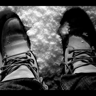 Instabest Instacool Bestshot Bw snow shoes myself mysoul silence