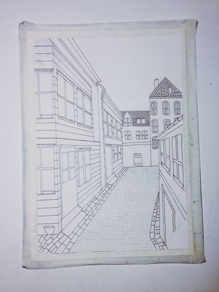 Scetch NotDoneYet Bergen Art