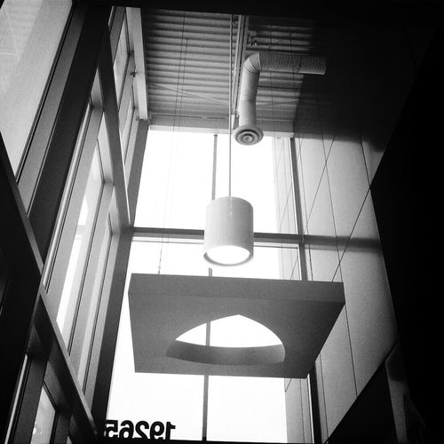 Ceiling view EE_Daily: Black And White Blackandwhite Eye4black&white  Blackandwhite Photography
