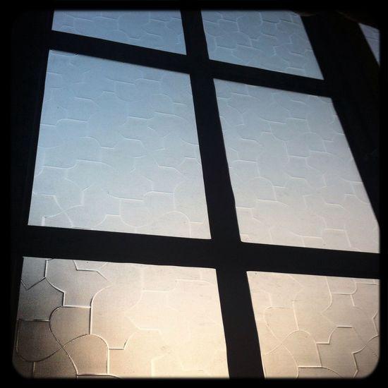Contrast of the sunset on my window... Lights Out Tschüss Guten Nacht Sher Müde