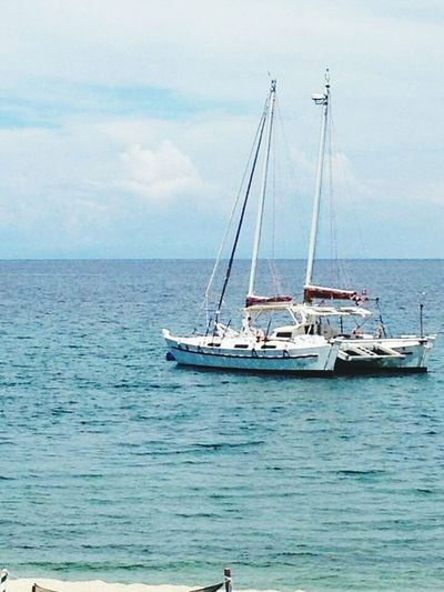 July 1, 2016 Sea Boat Water Horizon Over Water Chiechietravels Vacations Sea Nautical Vessel Transportation Boat Water Sailboat Horizon Over Water Mast Sky Mode Of Transport Tranquil Scene Cloud Tranquility Calm Vacations Scenics Tourism Journey Day