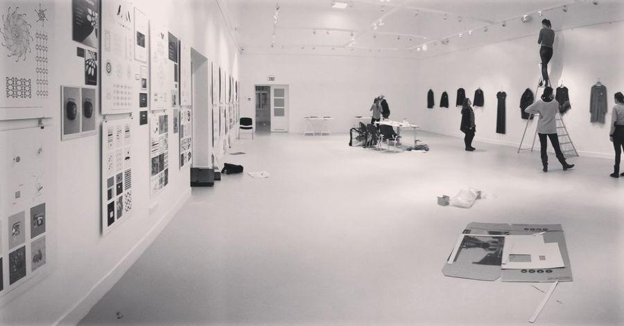 Telšių galerija, pirmakursių peržiūros Vda Compositions Exhibit  Jewellery