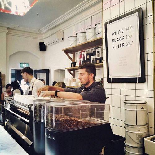 寻找咖啡厅是旅行里 惬意的一件事