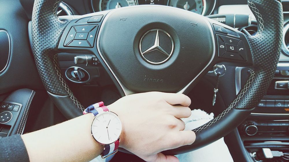 Car One Man Only People Love Mercedes Danielwellington First Eyeem Photo Family Human Body Part Transportation Car Interior Men Vehicle Interior