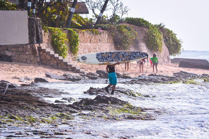 Surfer Nanakuli Hawaii