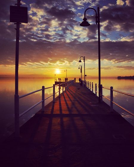 Sunset Cloud - Sky Water Tranquil Scene Sky
