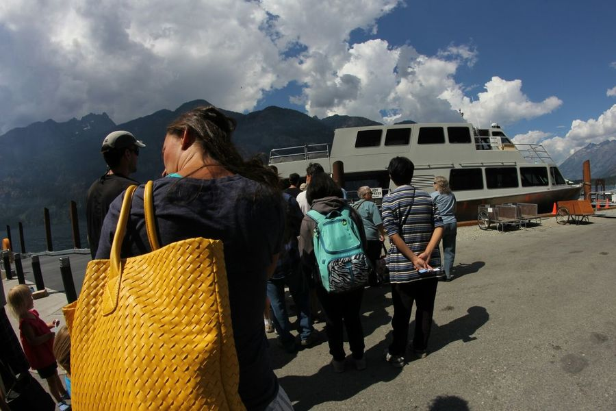 On The Way. People Together about to board in Stehekin, WA. Colour Of Life Tourism Travel Stories Lake Chelan Transportation Relaxation Seeing The Sights Traveling Landing Capture The Moment Stehekin Adventure Pacific Northwest  Summer Views The Adventure Handbook Miles Away Paint The Town Yellow Connected By Travel Be. Ready.