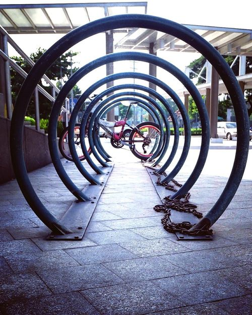 Bicycle Transportation Architecture Circular Architecture Fujifilmx-a2 Bicycle Rack