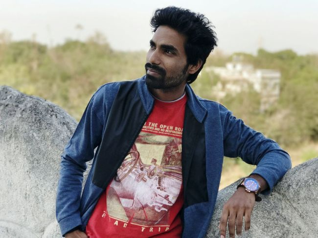 Beard Only Men One Man Only Young Adult One Person Casual Clothing One Young Man Only Adults Only Men Outdoors Lifestyles People Day Real People Nature Sky Robinraj Daman MrRobPhotography Iammrrob Fashion Model Newface Mrrob