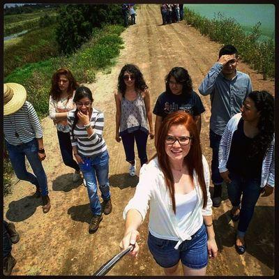 ISA'S en acción! *.- Guapos Practica CONAGUA Texcoco bronceandonos aprendiendo siempre losmejores