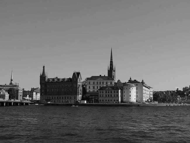 Black & White City Olympus Stockholm Architecture Black And White Blackandwhite Building Exterior Built Structure City Cityscape Clear Sky Day Nature No People OlympusPEN Outdoors Place Of Worship Sky Travel Destinations Voightlander Nokton 25mm F1:0,95 Voigtländer Water Water_collection Waterfront