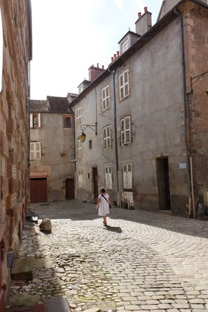 Architecture Rear View Building Exterior Built Structure Full Length Cobblestone Walking One Person Old Town One Woman Only Adults Only Adult Only Women Day Women Town Outdoors Sky People Real People