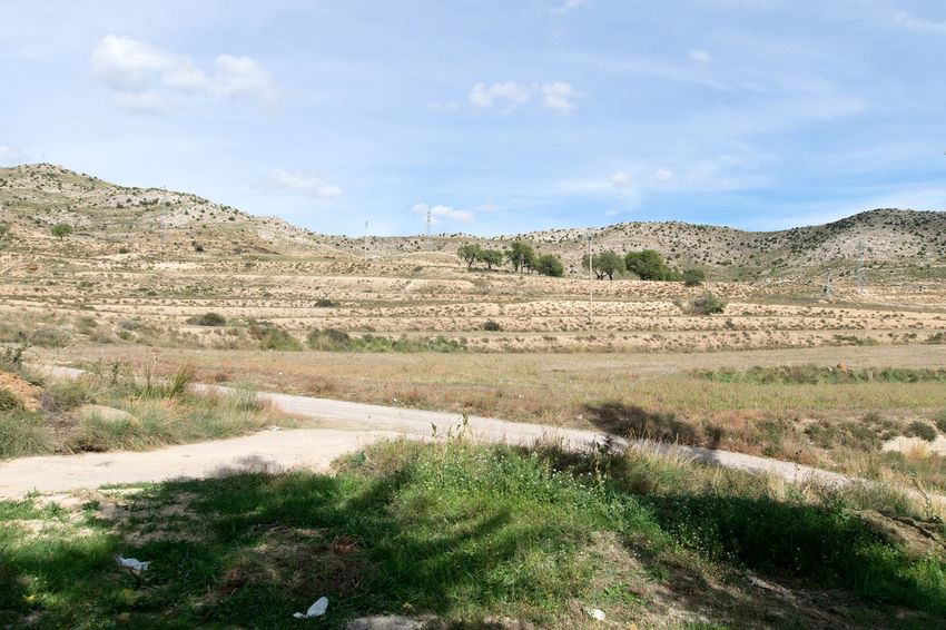 Utrillas Terual Moseo minerio y alrededores. Octubre 2018 2018 October Teruel Utrillas Beauty In Nature Cloud - Sky Day Eddl Environment Field Grass Green Color Growth Land Landscape Mountain Nature No People Non-urban Scene Outdoors Plant Scenics - Nature Sky Tranquil Scene Tranquility