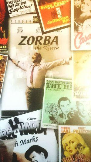 Backgrounds Text Indoors  Zorba The Greek Zorba Elvis Presley Casablanca Cinema Scope