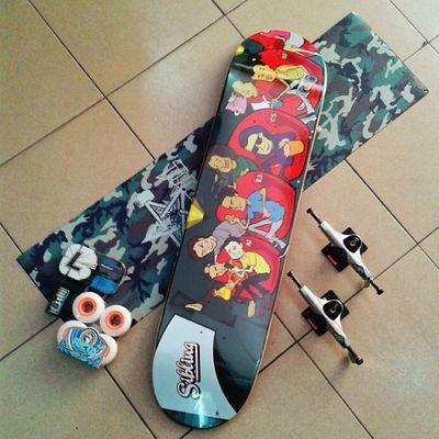 Damnnnnn...let's skate...have a nice day... :)