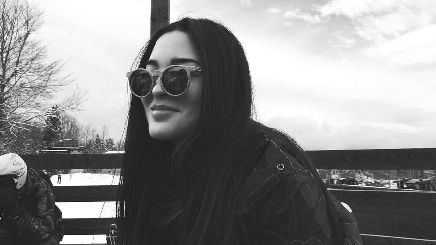 Girls Asian  ASIA Asiangirl Photography Pictureoftheday Glasses Winter Hiver Blackandwhite Blackandwhite Photography Black And White Collection  Travels Urban Escape