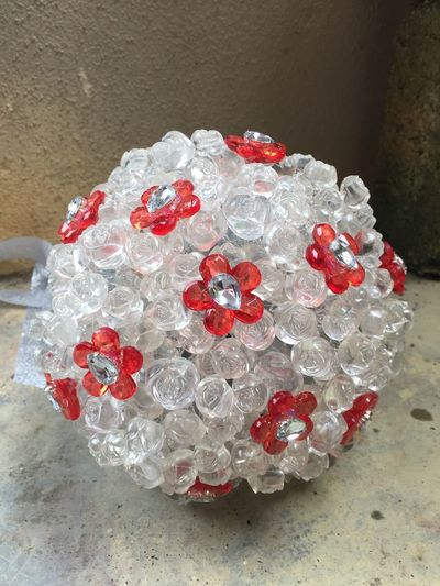 Crystal Crystal Clear Crystal Ball Crystal Bouquet Crystal Handbouquet Handmade Handbouquet Flower Crystal Flowers