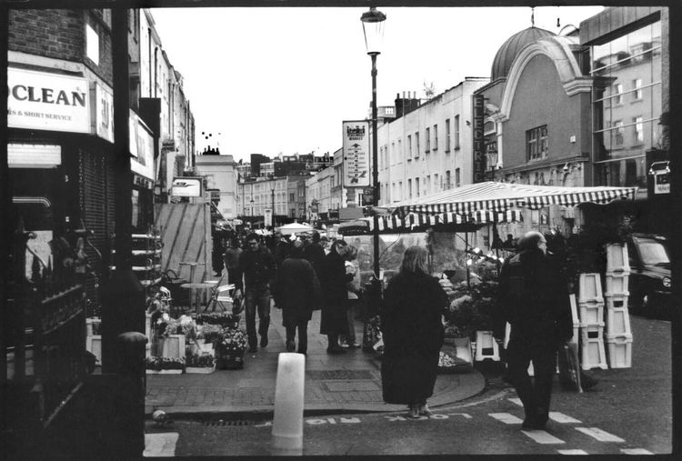 Taking Photos Hello World London Portobello Market Eyeemblack&white Black And White
