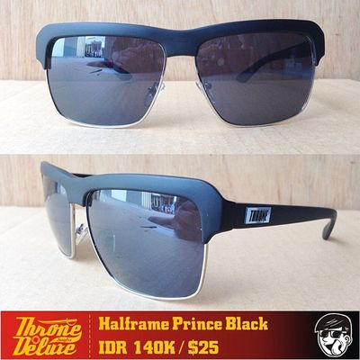 HalfFrame Prince. Throne39 Fall Catalogue Sunglasses eyeglasses . Online order to : +62 8990 125 182.