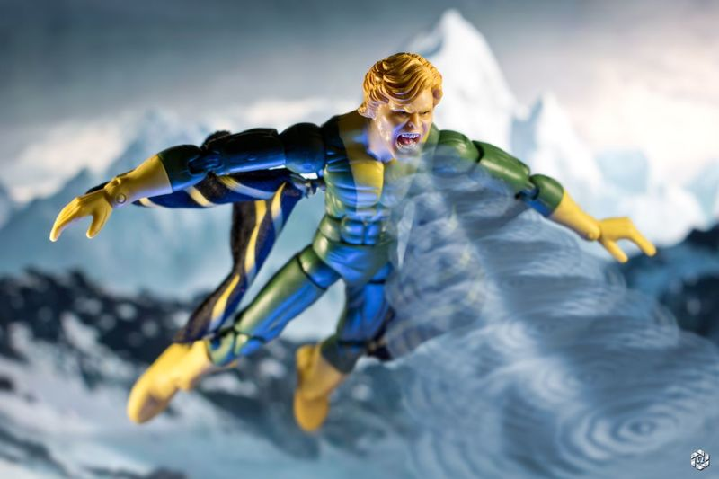 Marvel Marvellegends Toybiz Xmen Banshee