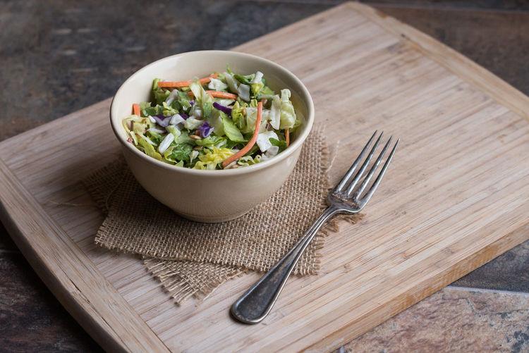 Fresh salad in