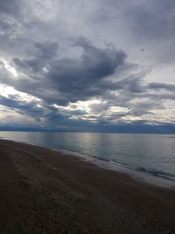 Sicily, Italy Capo D'Orlando Nature Is Art Beauty Is Everywhere  Light In The Darkness Light And Shadow Daylight Photography Beach Sea Cloud - Sky Water Scenics Nature No People Horizon Over Water Tranquility Outdoors Day Sky Beauty In Nature Landscape