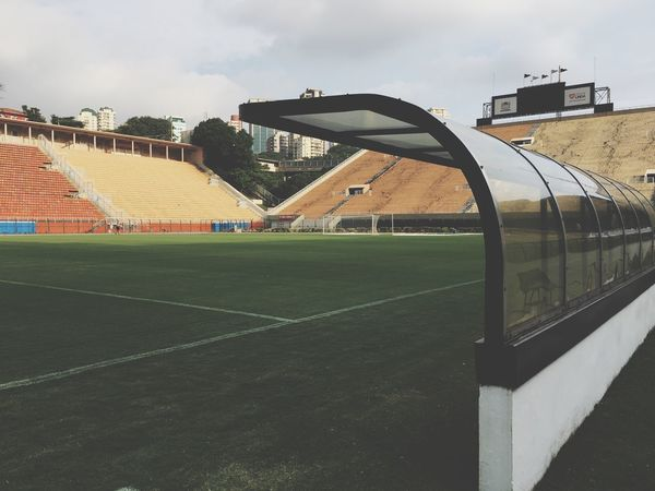 Architecture Stadium Sport No People Soccer Field Grass Pacaembu