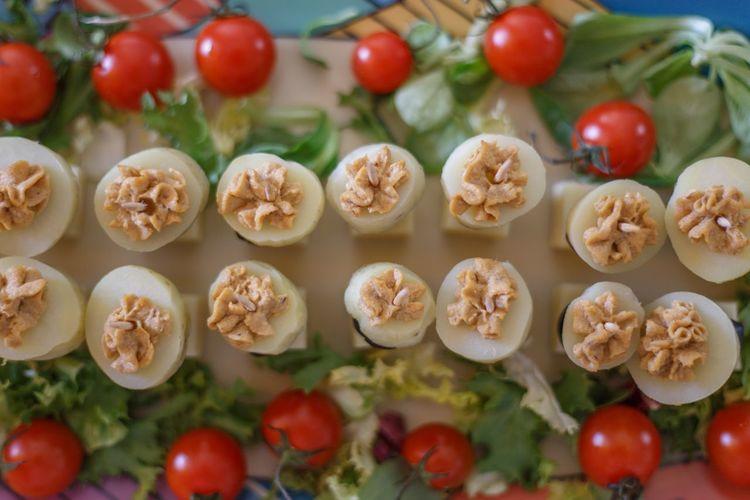 Full frame shot of salad