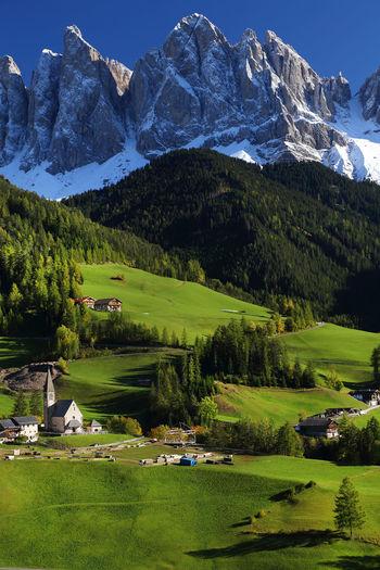 Scenic view of santa magdalena
