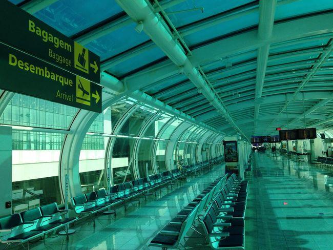 Aeroporto Santos Dumont Rio De Janeiro Brasil Desembarque Arrival Transport Signs Brazil Pmg_jan