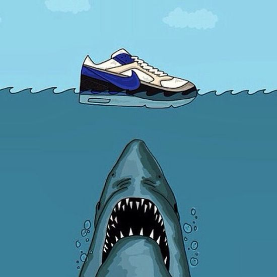 Nike Shoes Airmax90 Jaws