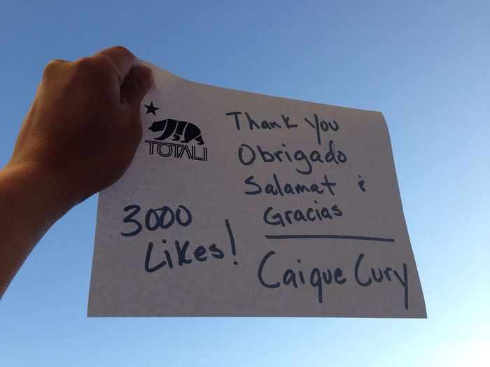 3000 Facebook Likes this morning for Action Sports company TotaliCali TotaliCali Cali Livin'