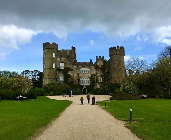 Ireland🍀 Malahide  Castle Cloud - Sky Contrast Dublin Europe Easter