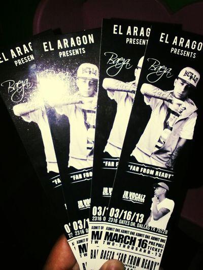 baeza tickets for sale 30$ each i deliver them dallas͵ greenville͵mesquite͵garland͵richardson.