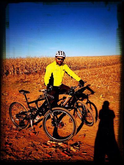Primer Paseo Del Año En Bici, Con Kynkos. Una Tarde Preciosa.