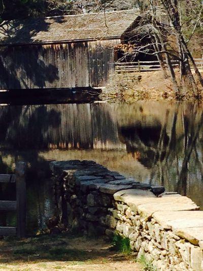 Covered bridge old Sturbridge village, Sturbridge , Ma
