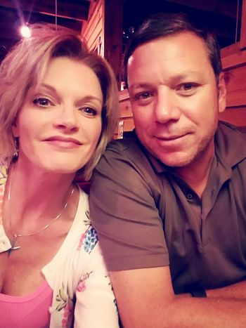 Hanging Out Celebrating Life Togetherness My Love Birthday Dinner Couple Cuteness
