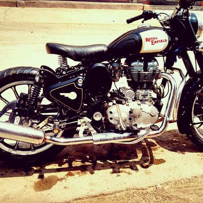 Royalenfield Classic Single Seater Bullet 350