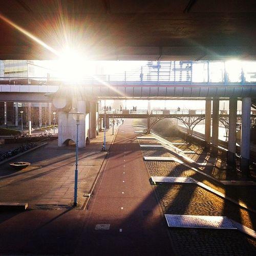 Trainstation Sloterdijk in Amsterdam .