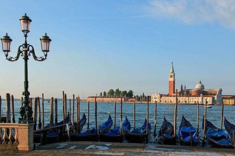 San Giorgio Maggiore in Venice Viewed from St. Mark's Square Doge Palace Gondola Grand Canal Italy San Giorgio Maggiore Venice