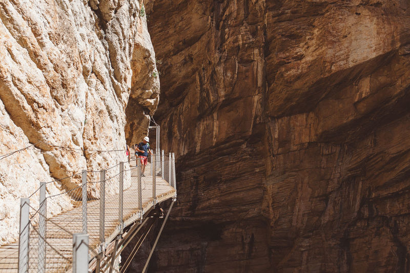 Caminito del Rey, Andalucia, Spain Adrenaline Adventure Andalucía Andalusia Ardales Bridge Bridge - Man Made Structure Caminito Caminito Del Rey Day Nature Outdoors SPAIN Staircase Walking Bridge