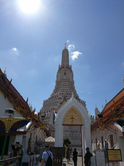 The temple Wat