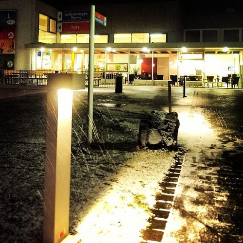 Schnee Night Winter Light