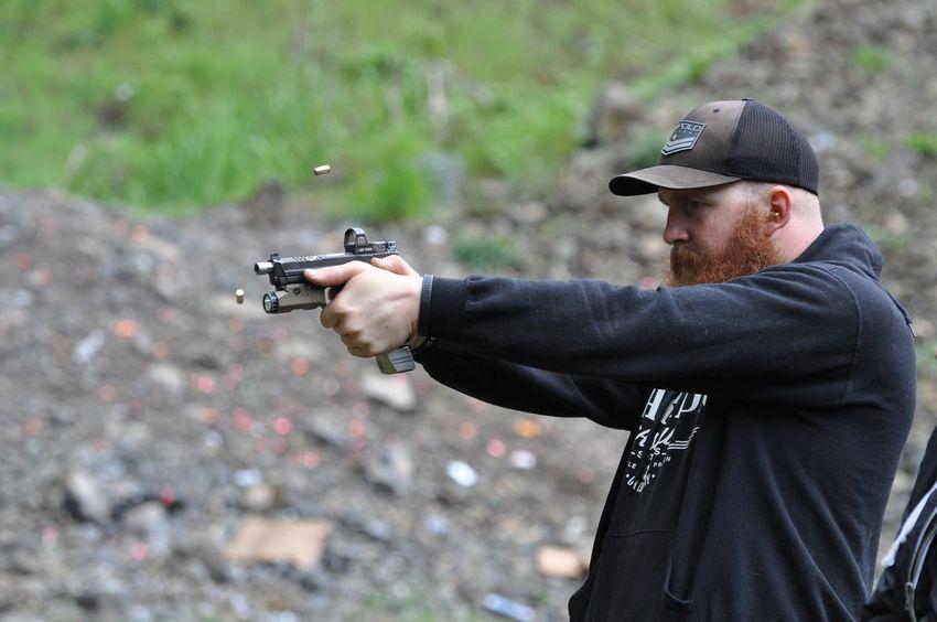 Aiming Gun Handgun Leupold Pistol Protection Shooting Shooting A Weapon Weapon
