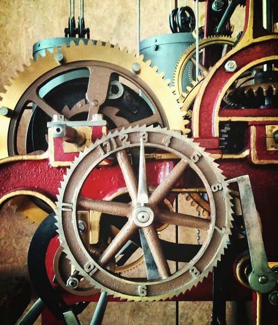Steampunk Time Times Red Muzeum Technikmuseum