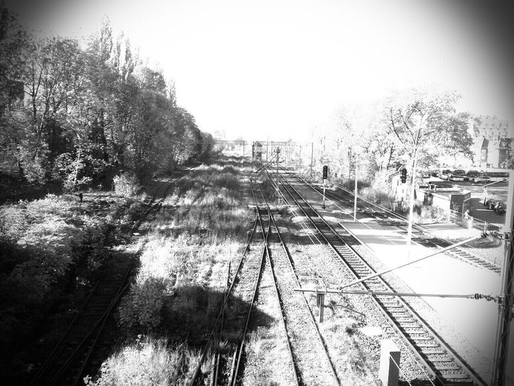 Silesia Zabrze Urban Railroad B&W Collection City Industrial